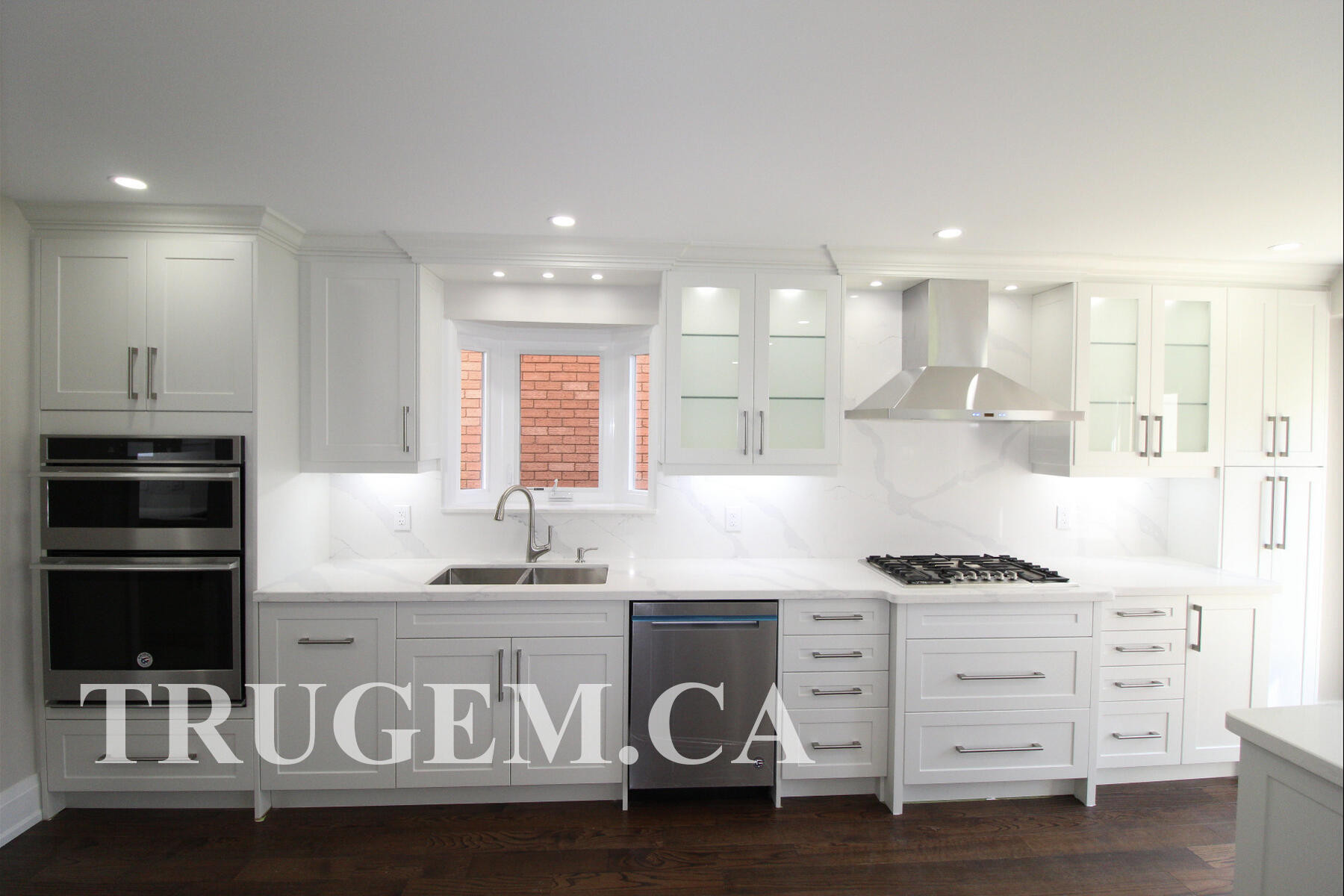 white wall cabinets
