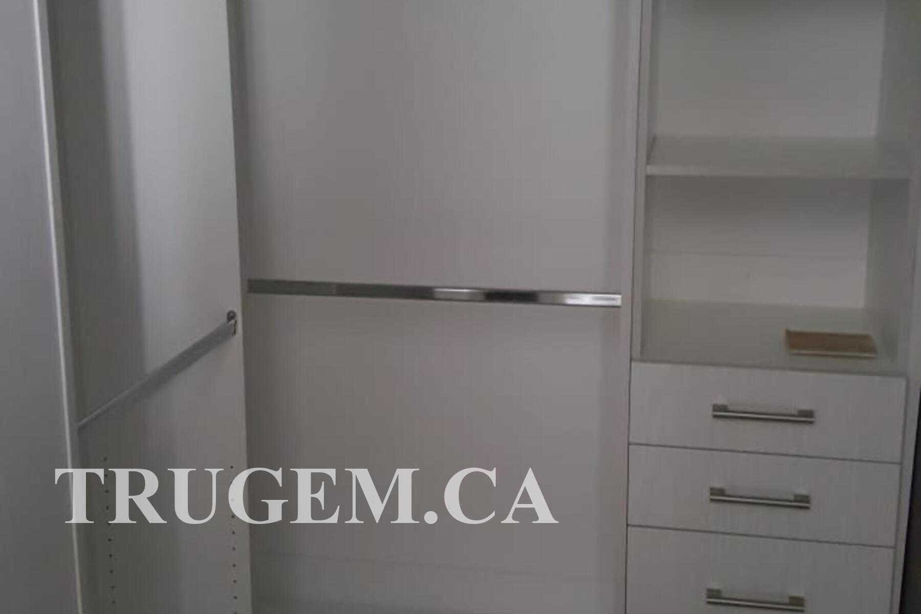 closet organizer with drawers & shelves