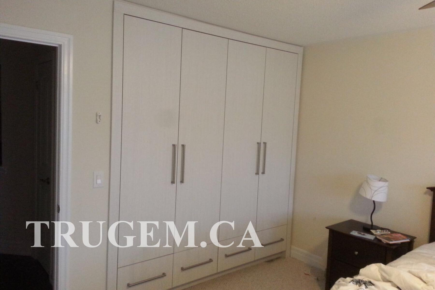 wall mounted wardrobe design