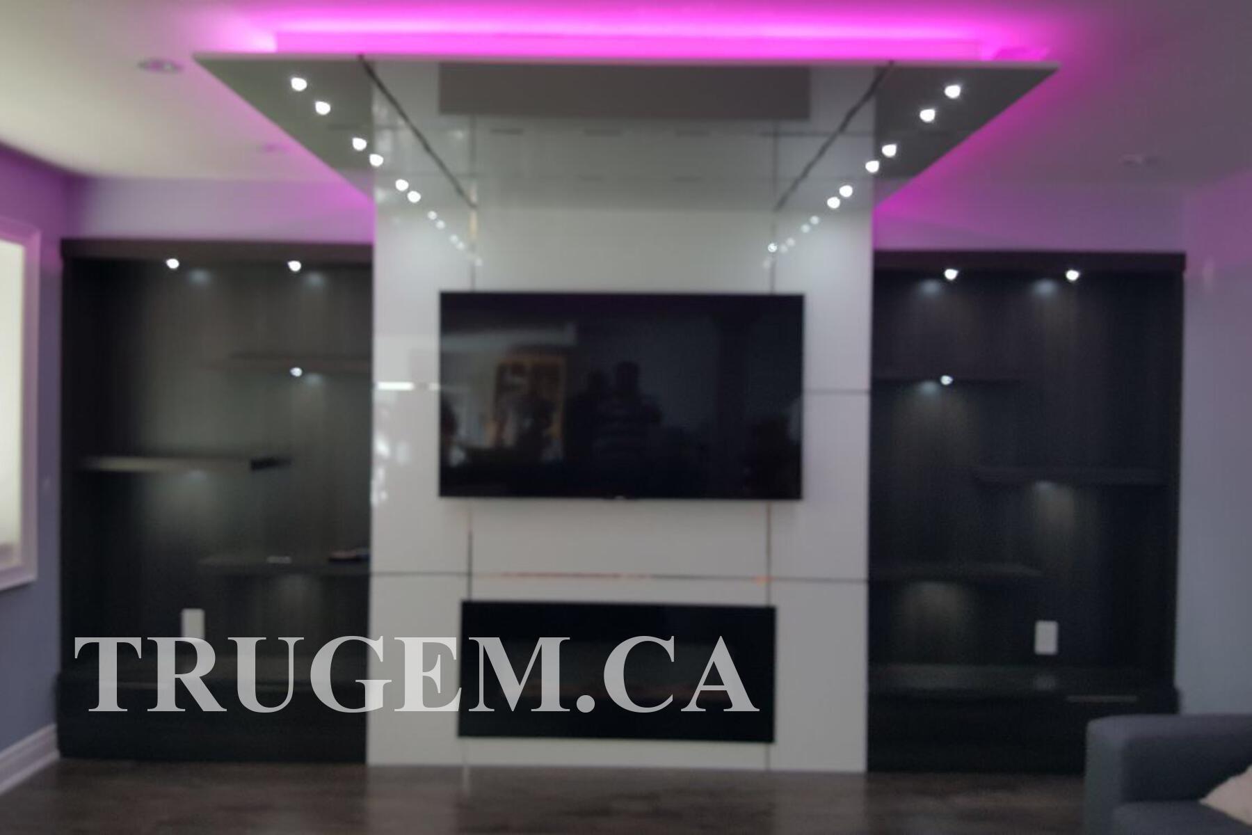 modern built in tv wall unit designs