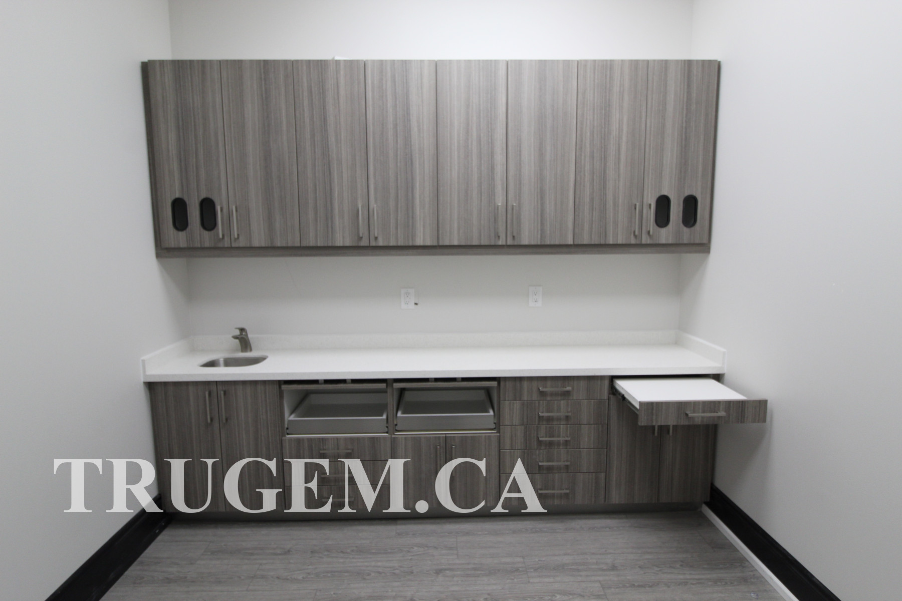 Cabinets of Dental office
