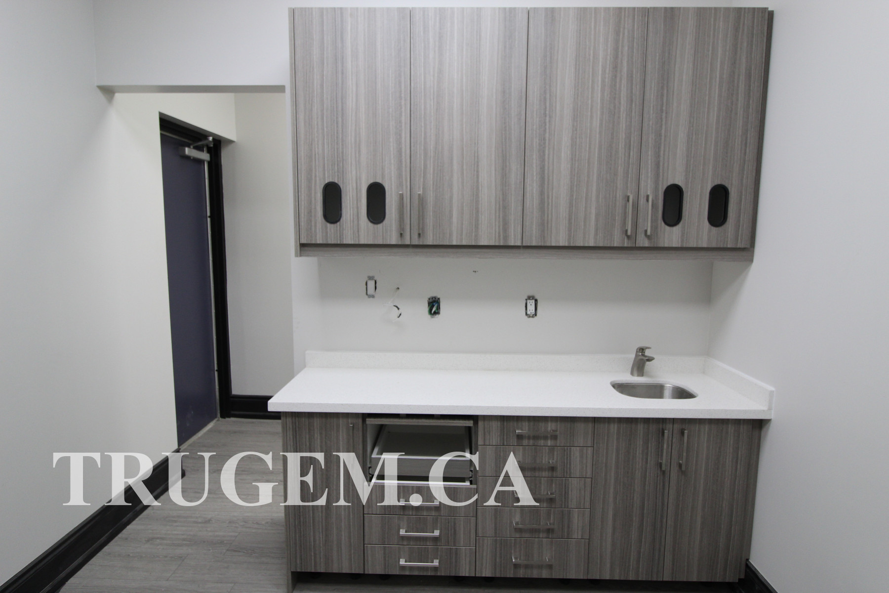 Dental Office Cabinets with Sink