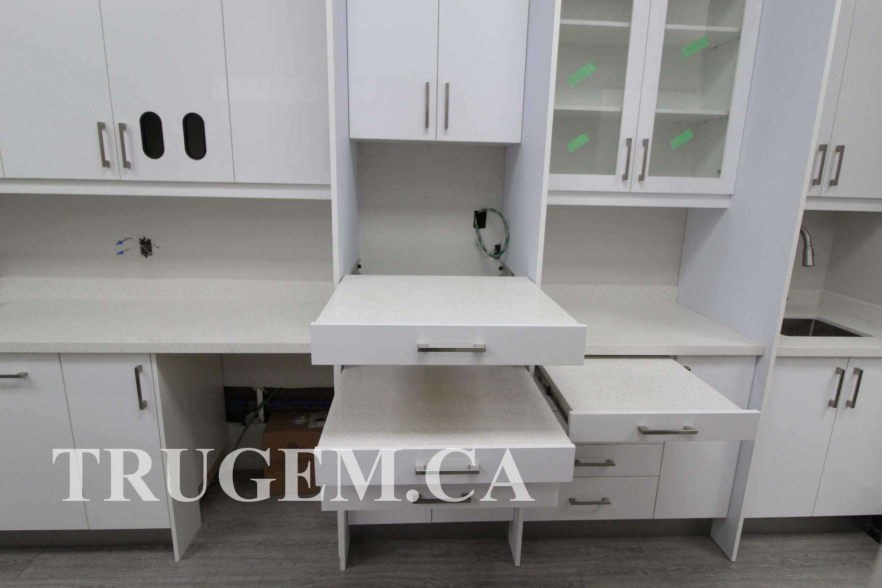 unique white cabinets