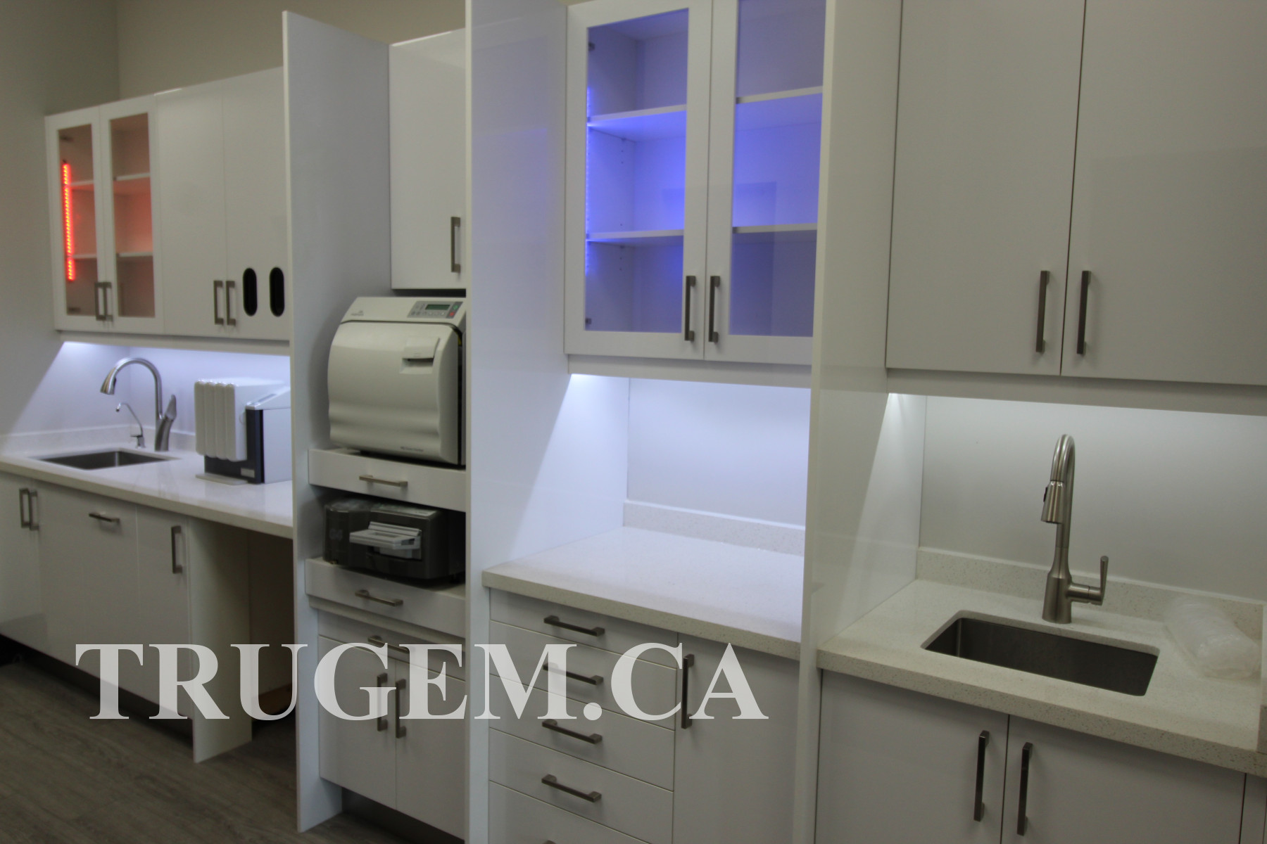 small dental office cabinets design