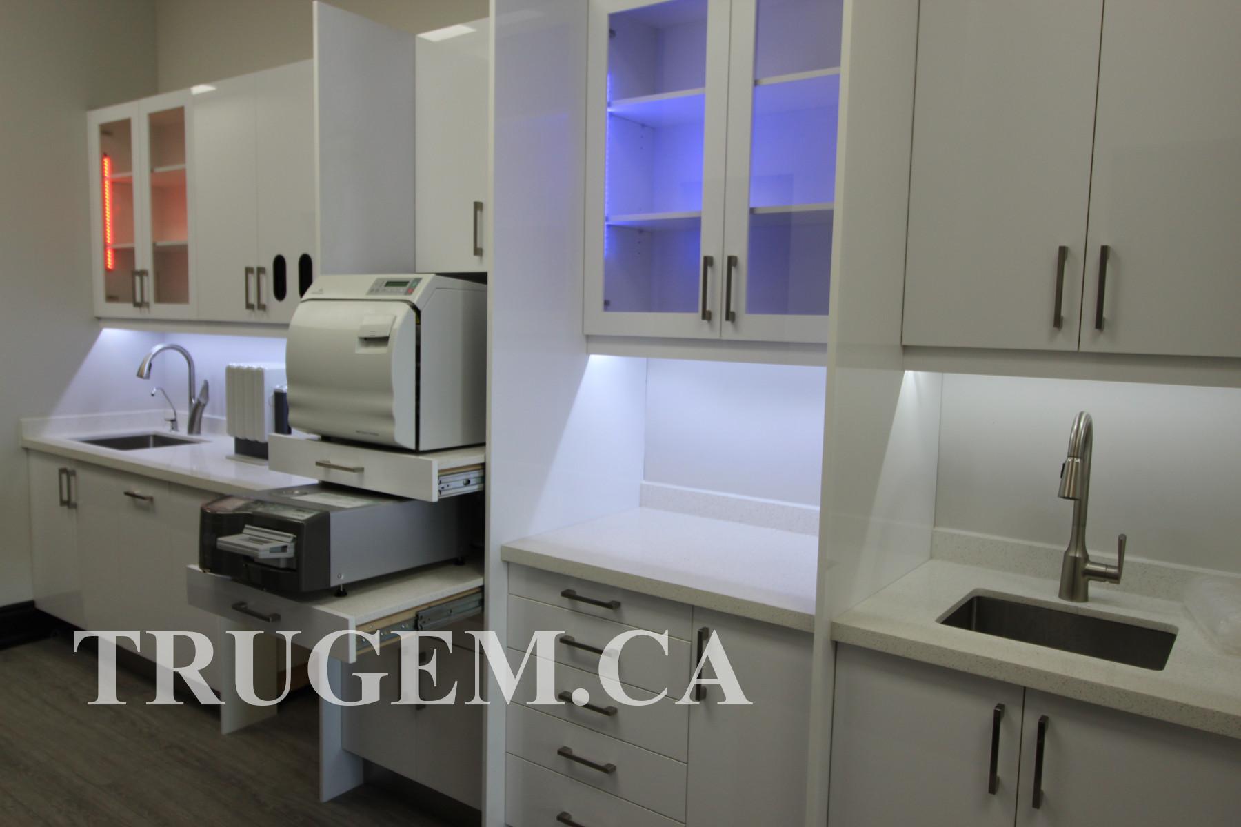 cabinets dental office design