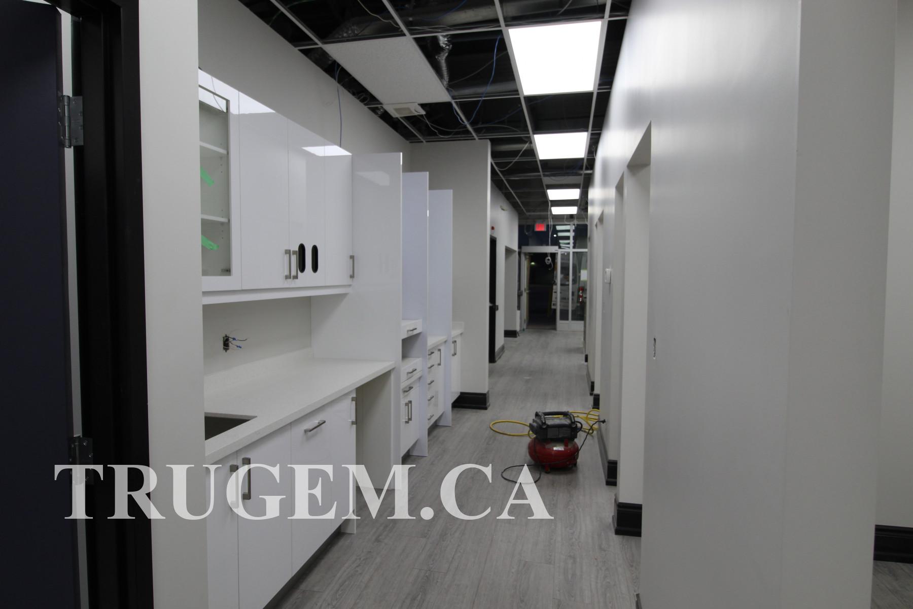 dental office after renovation