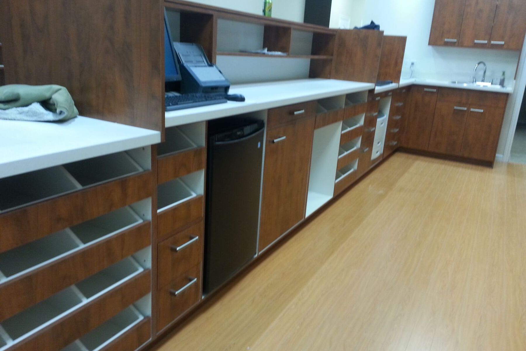 commercial pharmacy renovation