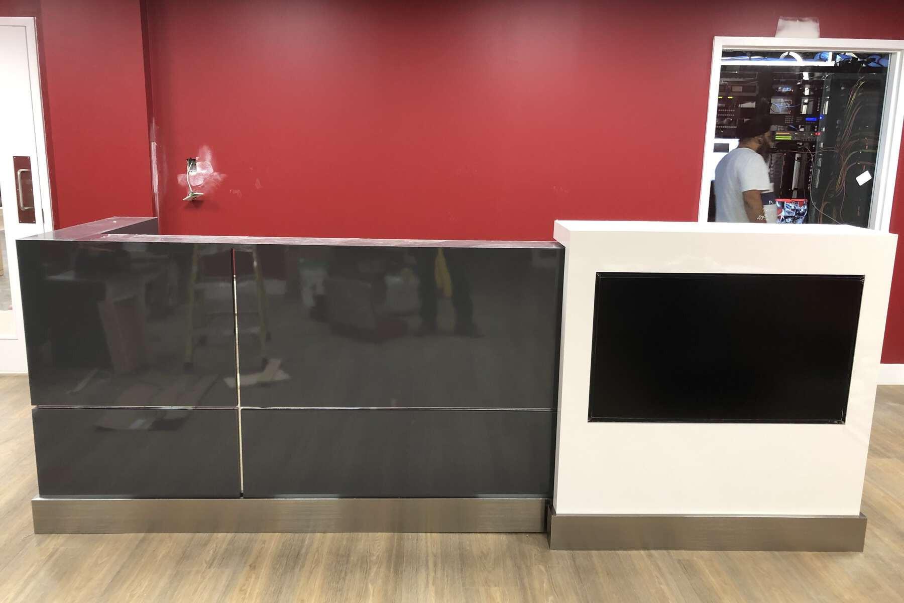 cheap reception desk