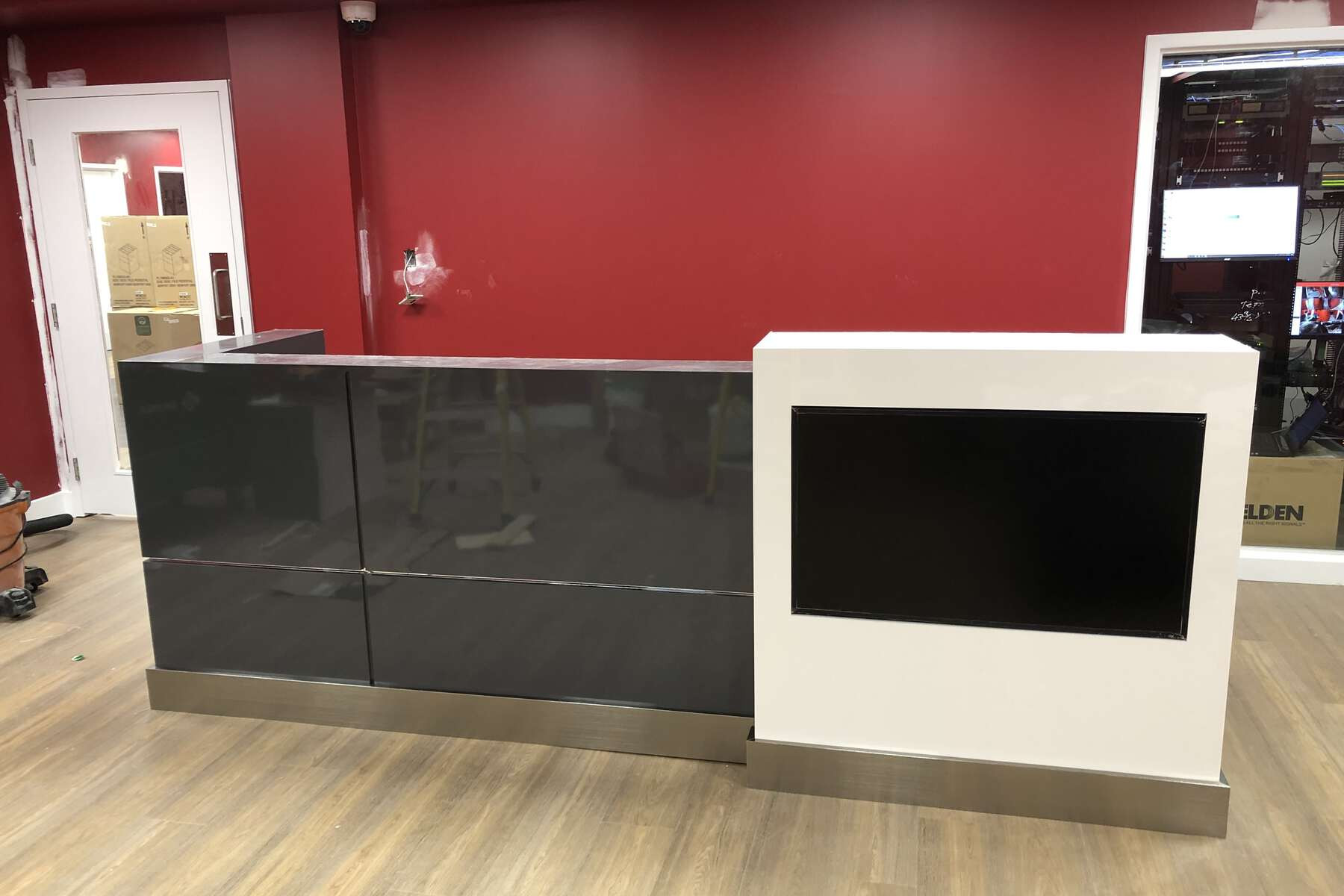 commercial reception desk