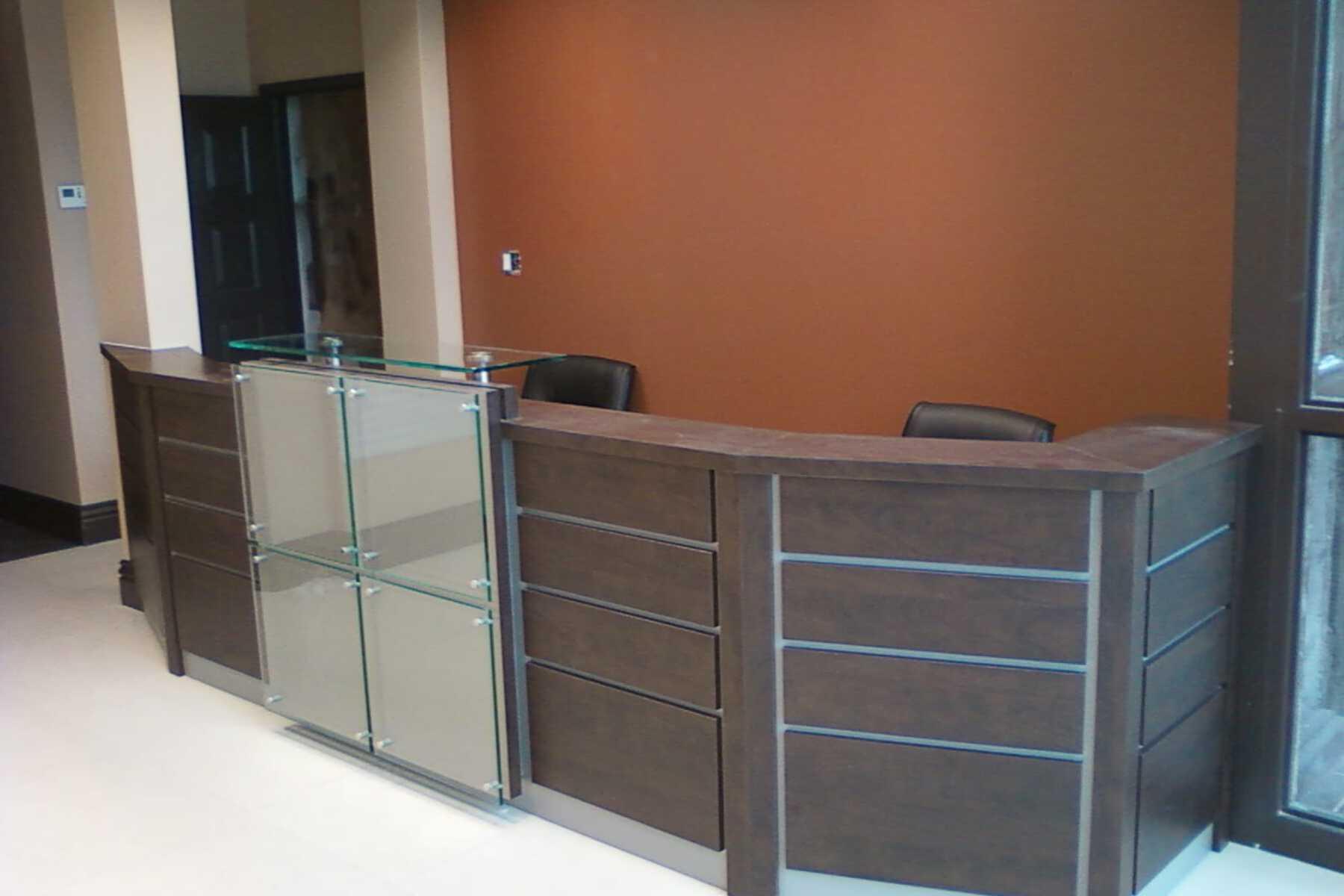 modern front desk