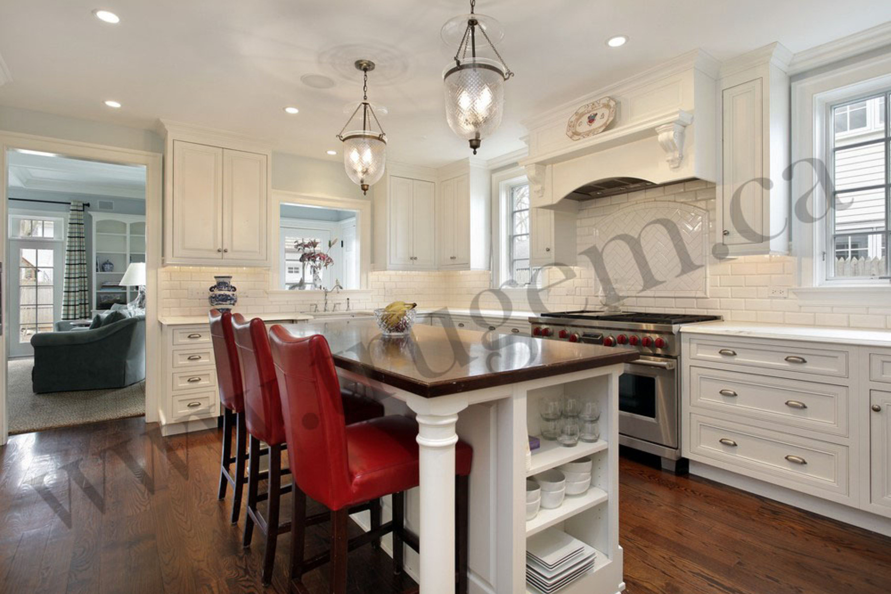 transitional kitchen lighting