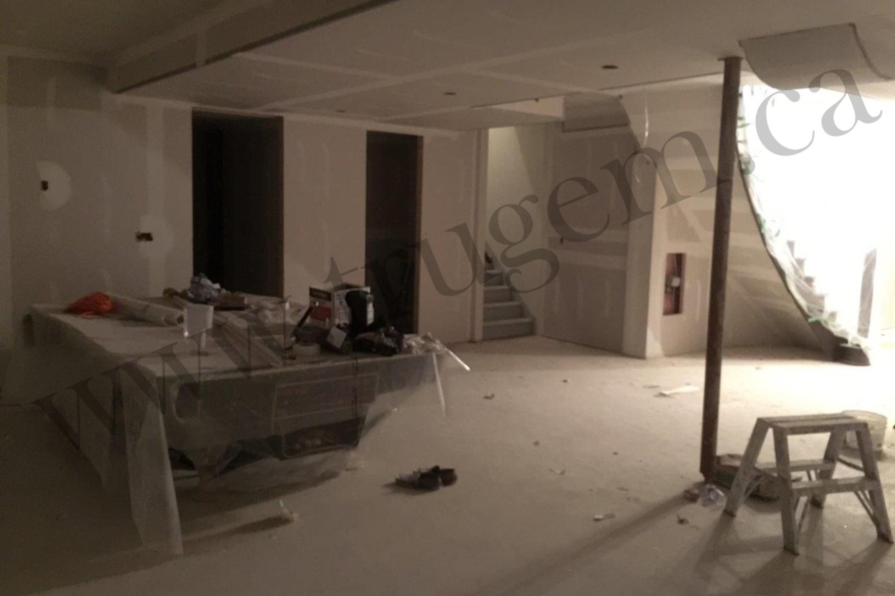 Castlemore renovation work