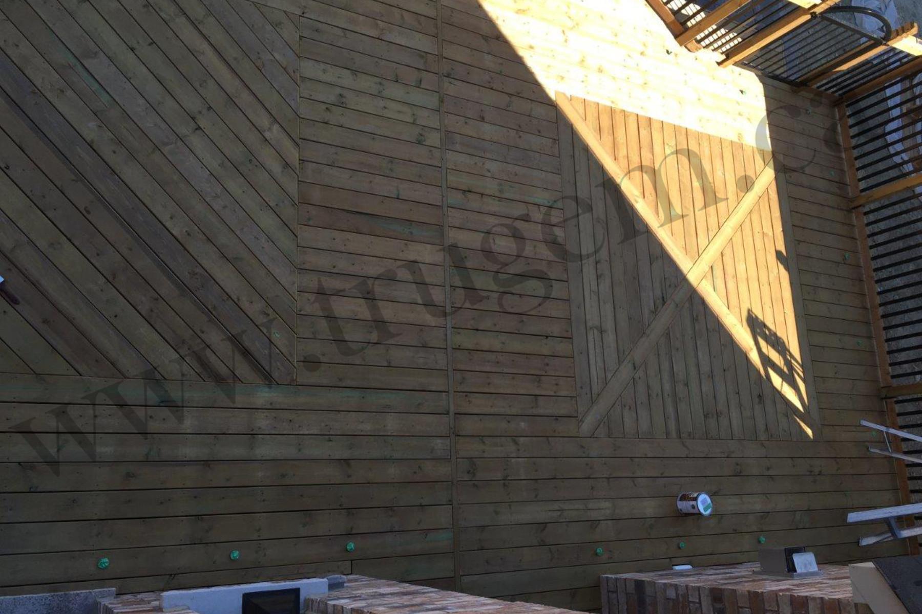 wooden home design