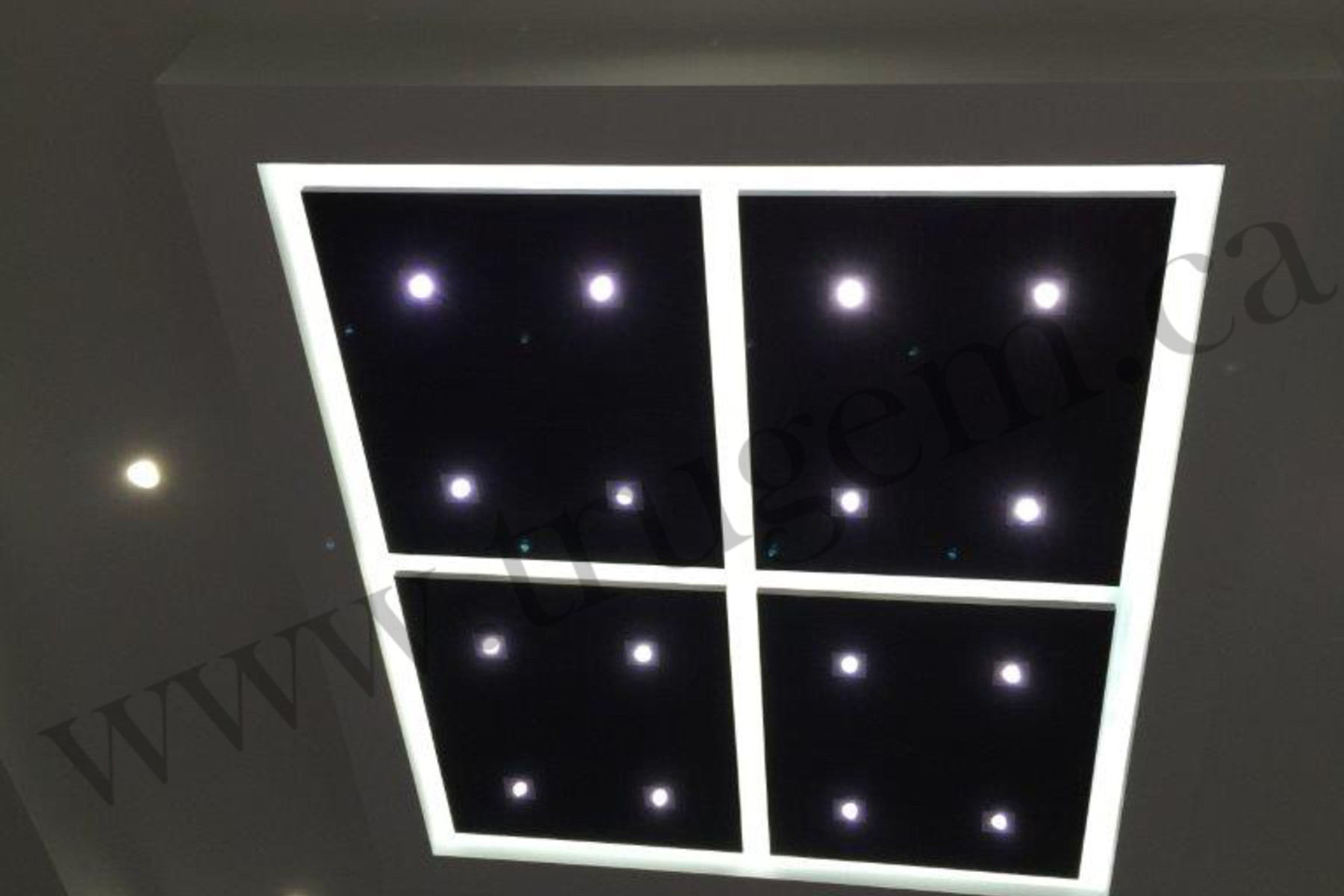 ceiling desing with lights