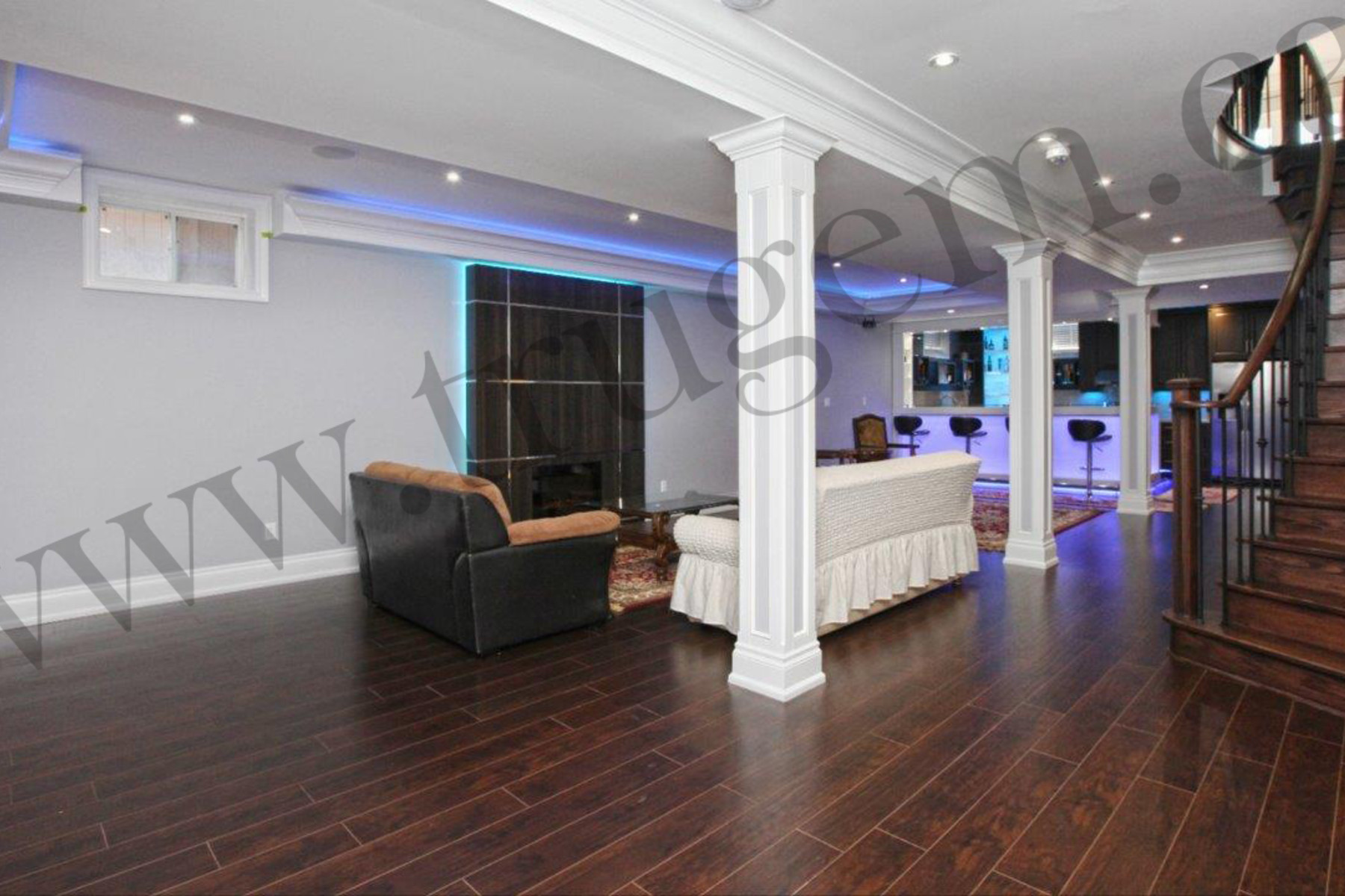 hall and bar renovation design