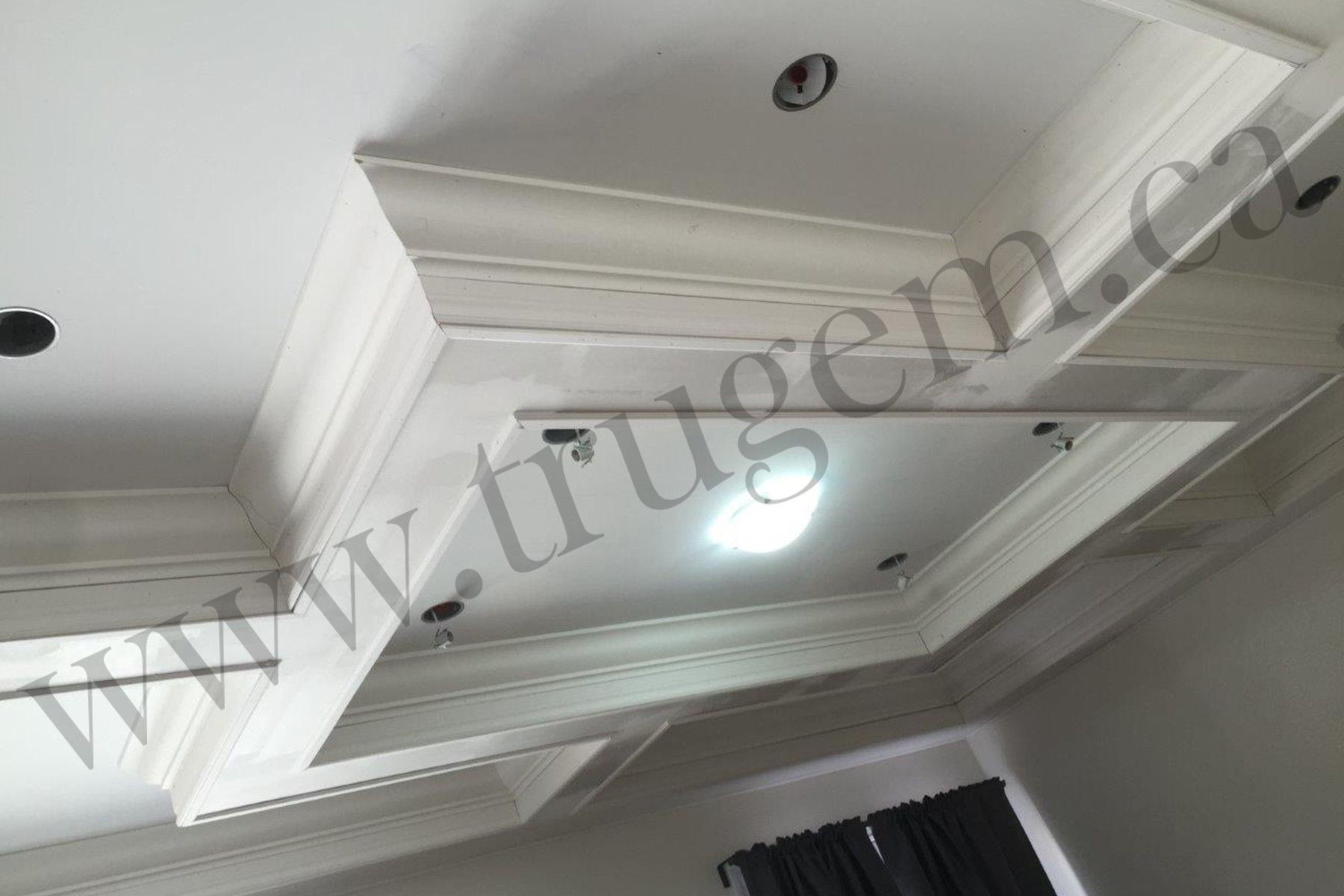ceiling design with lights