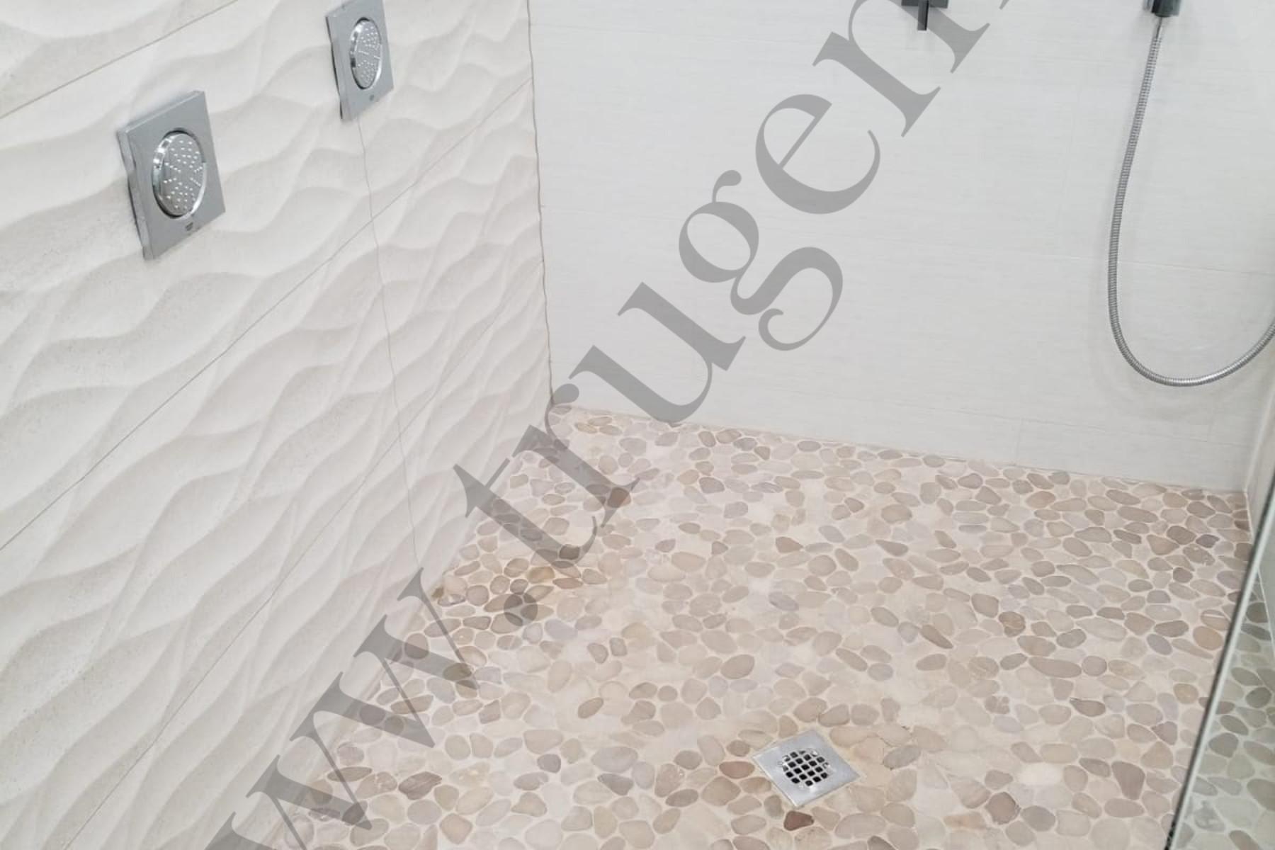 basement bathroom flooring