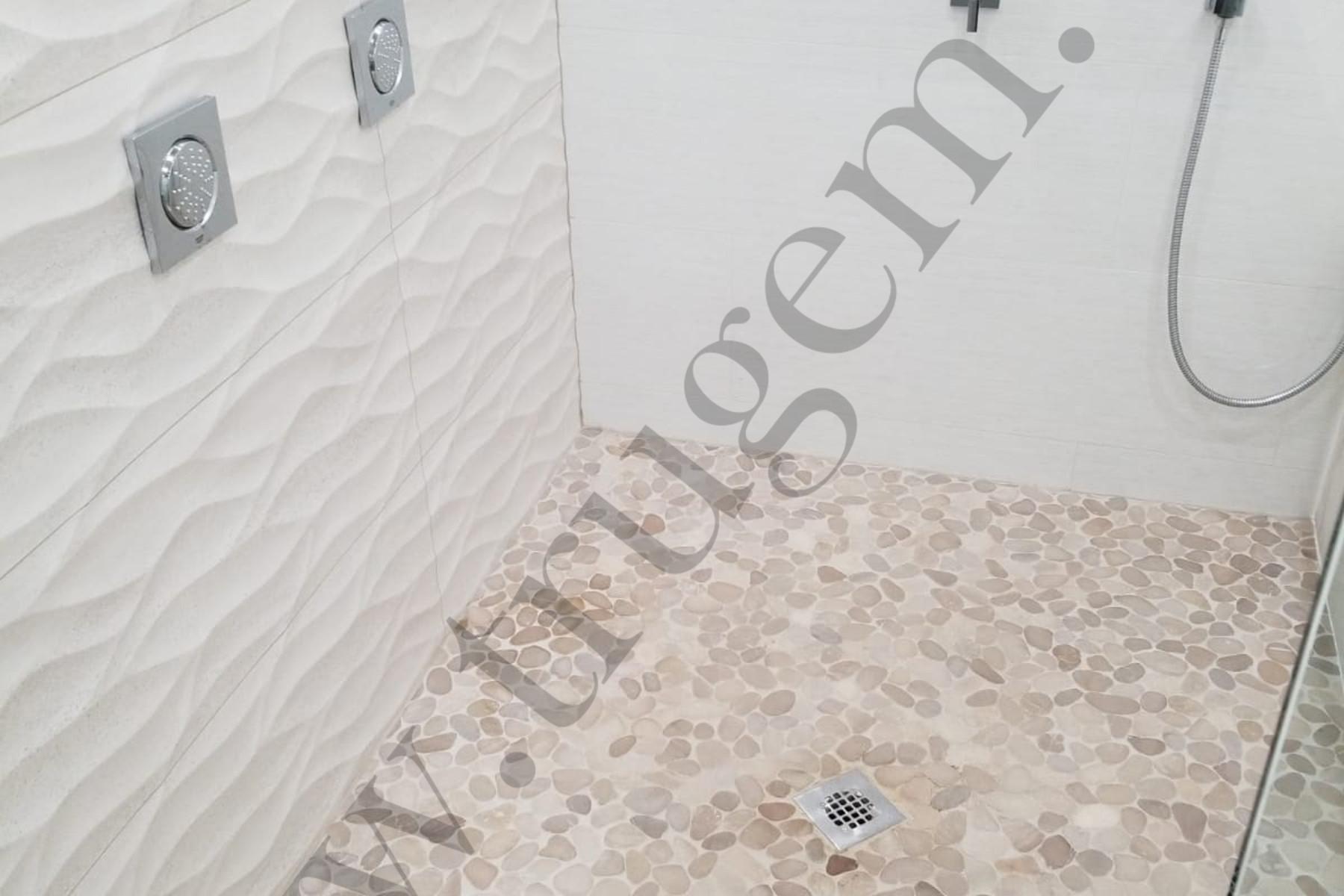 basement bathroom floor