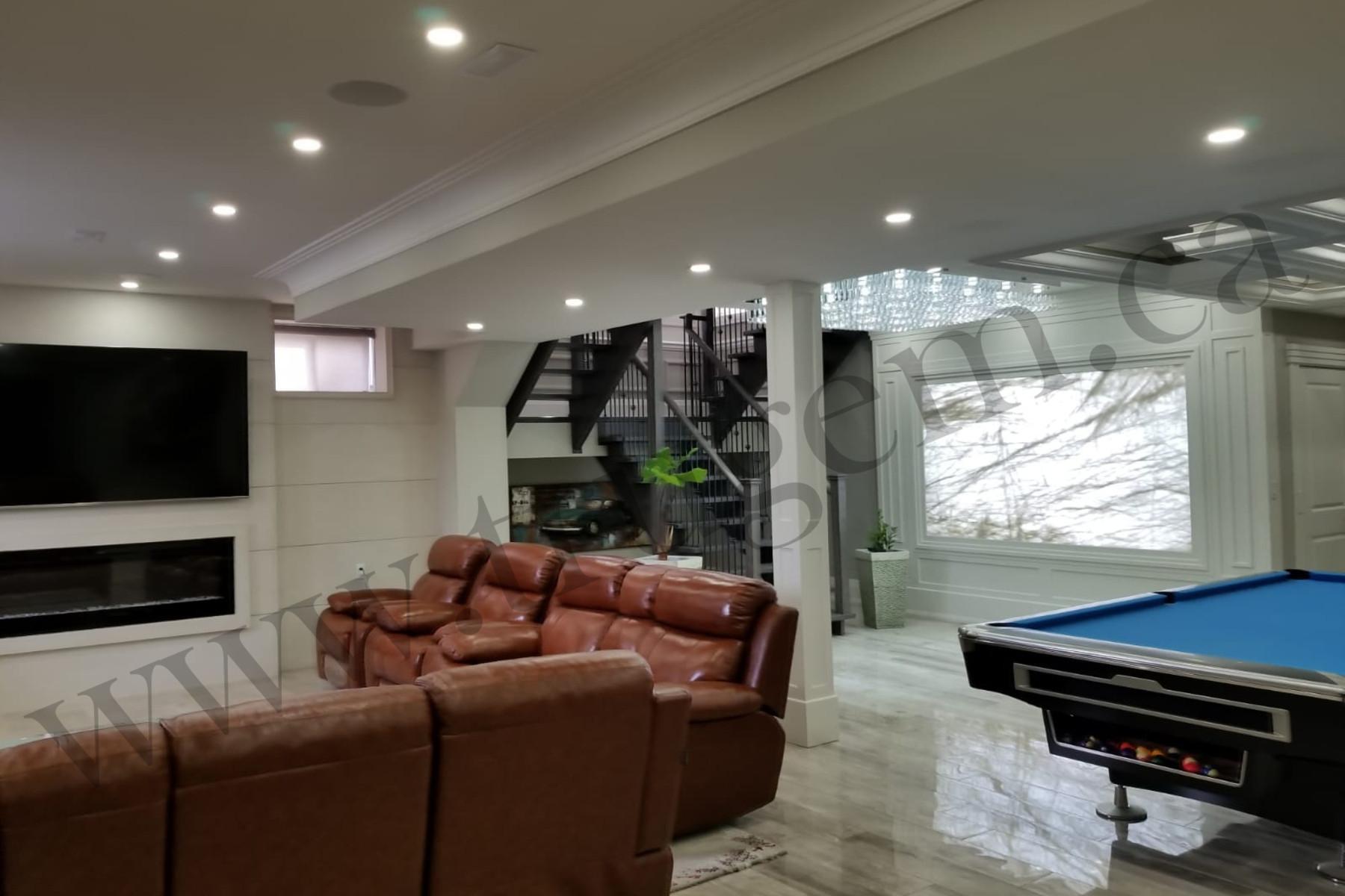 finished basement apartment