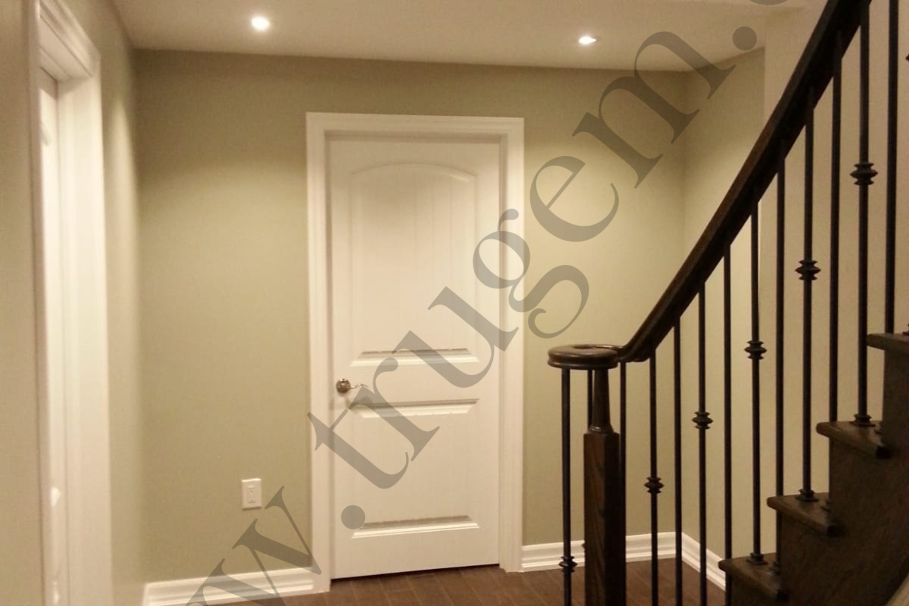 Finished Basement Stairs & Doors