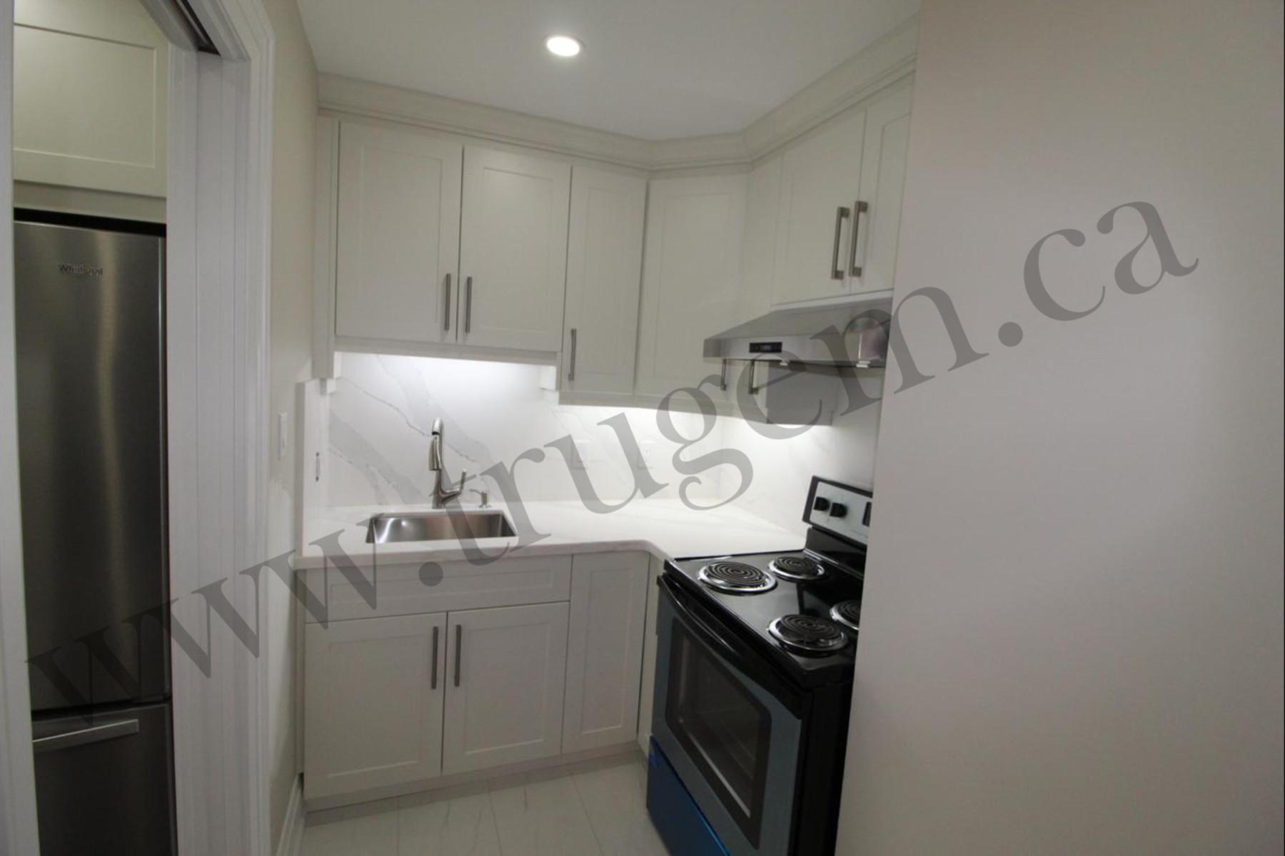 small contemporary kitchen