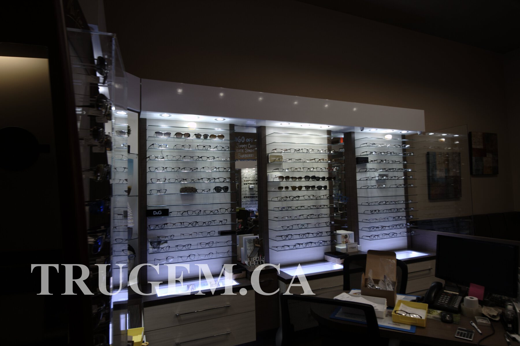 Optical Store Cabinets