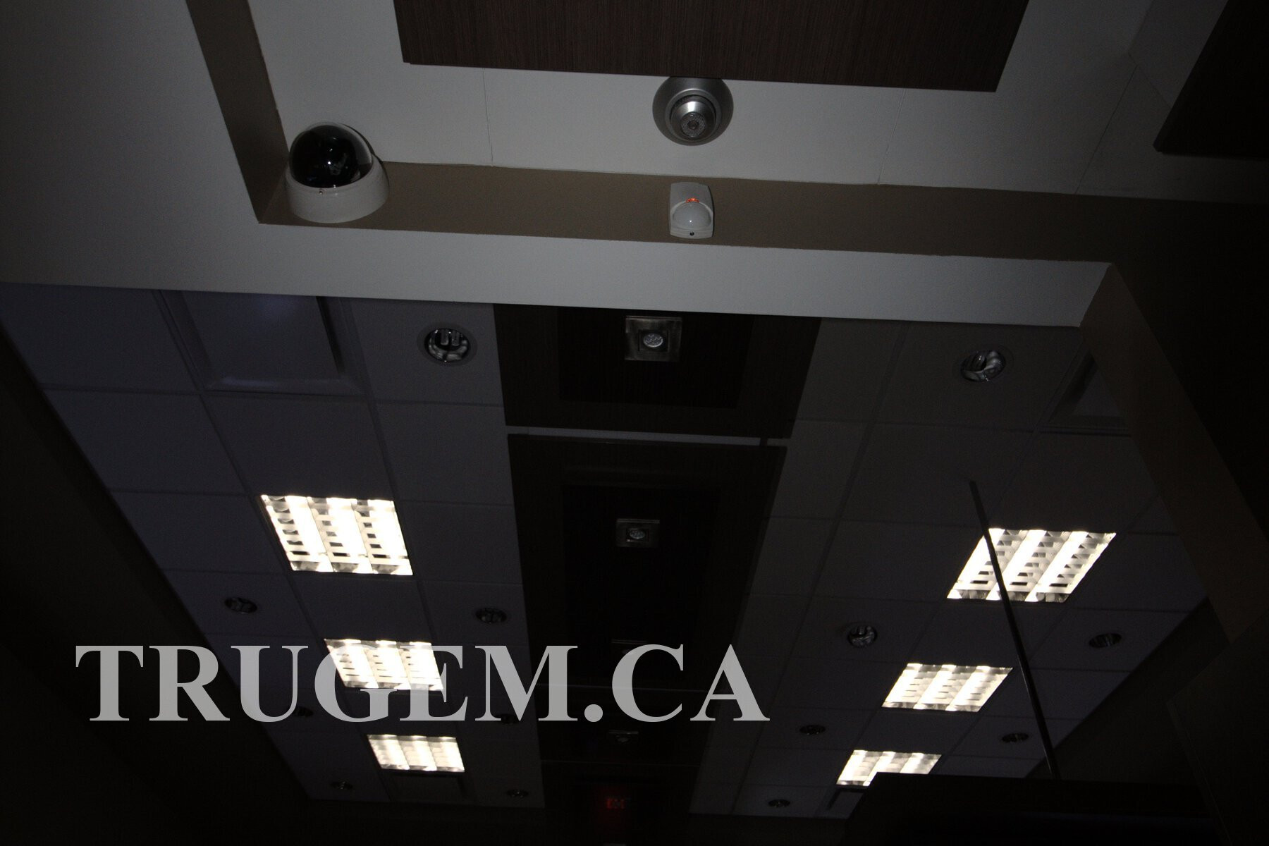 Optical Store Ceiling