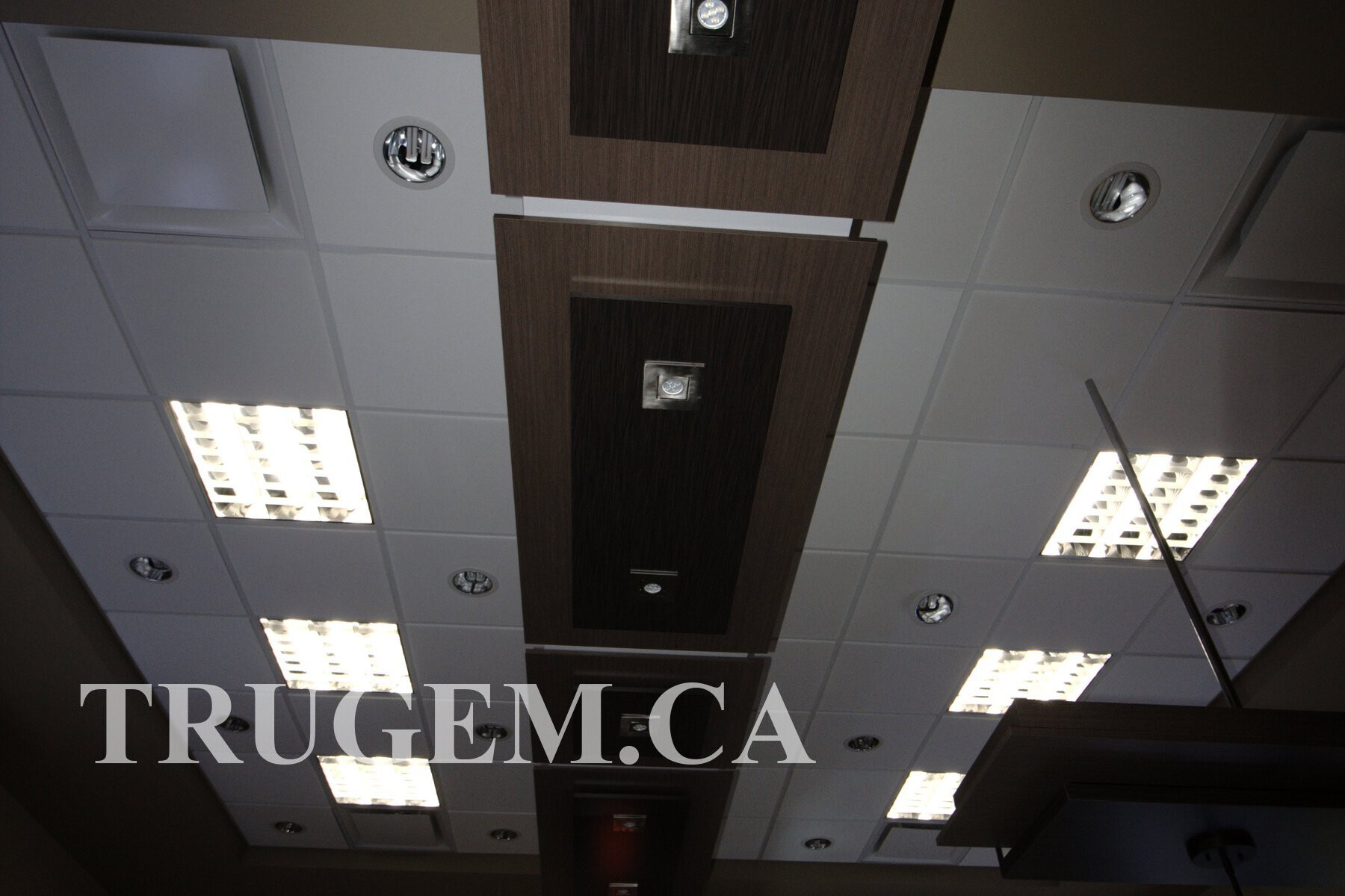 Ceiling Light Design of Optical Store