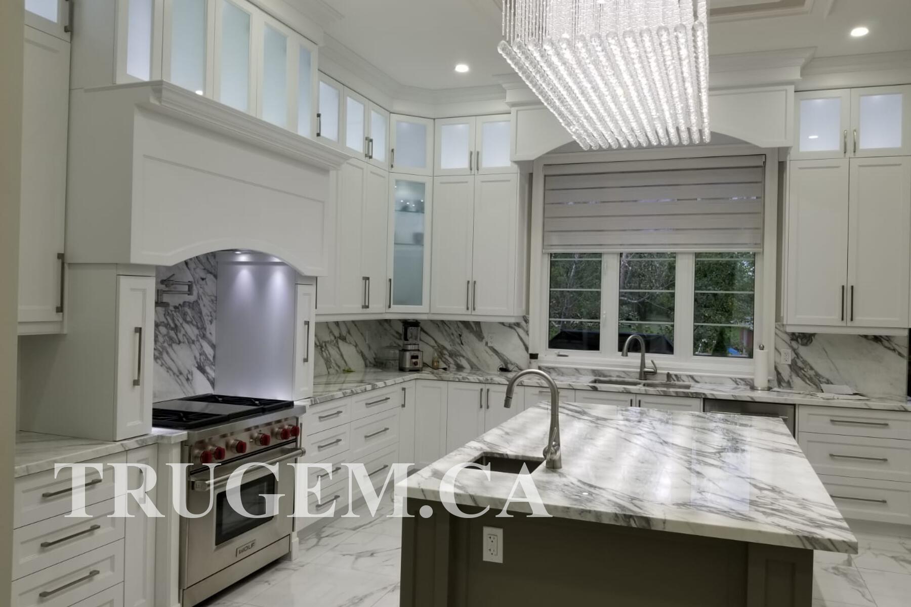 unique white kitchen cabinets